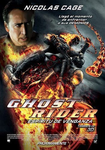 Ghost Rider 1 โปสเตอร์