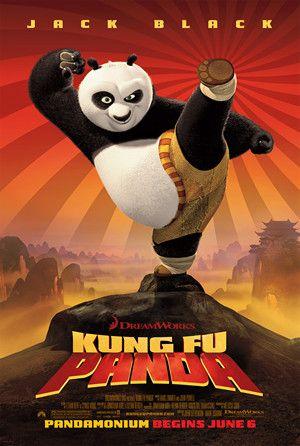 Kung Fu Panda 1 โปสเตอร์