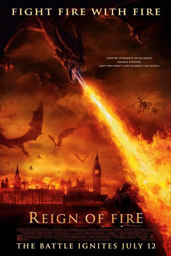 Reign of Fire (2002) โปสเตอร์