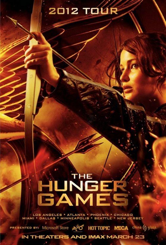 The Hunger Games 1 โปสเตอร์