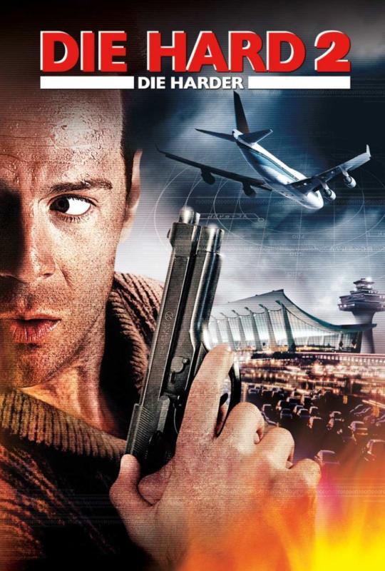 Die Hard 2 (1990) โปสเตอร์