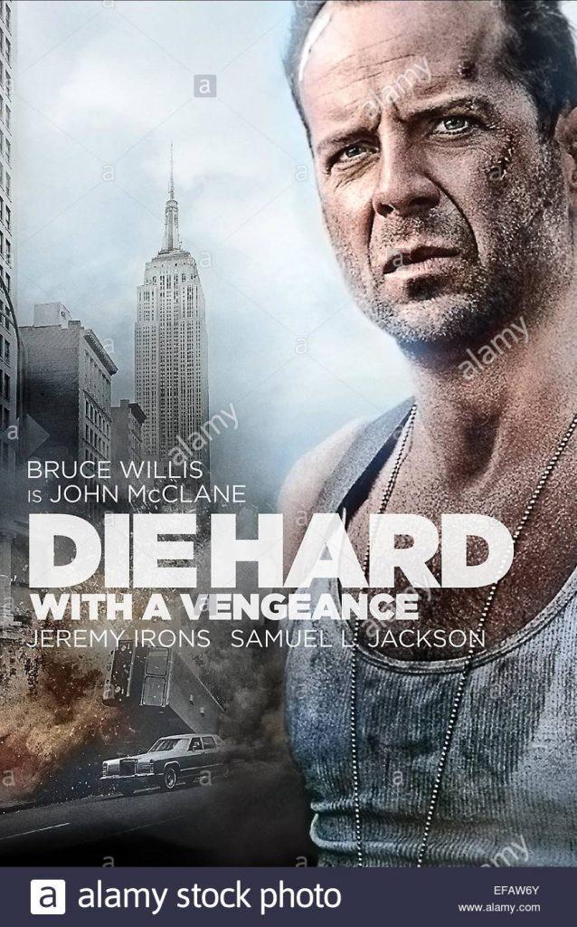Die Hard 3 With A Vengeance (1995) โปสเตอร์