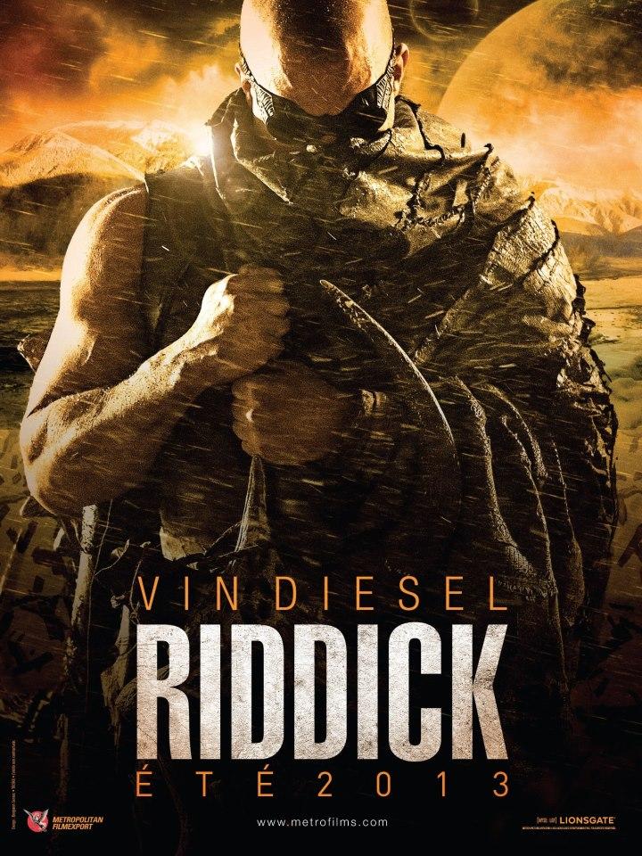 Riddick 3 โปสเตอร์
