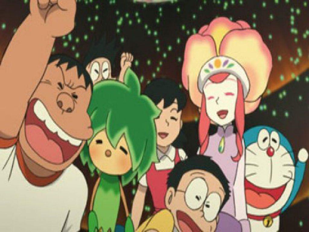 Doraemon Nobita to midori no kyojinden